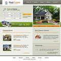 This template is ready to go for any real estate web site